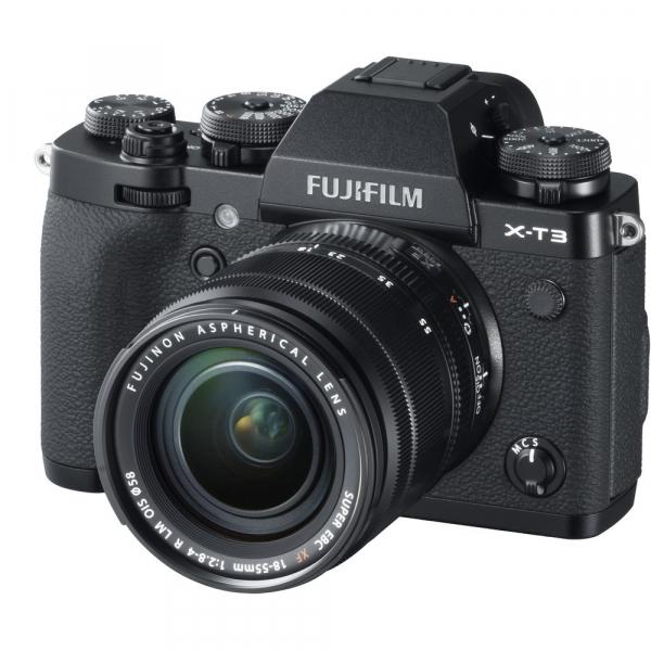Fujifilm X-T3 Aparat Foto Mirrorless Kit XF18-55mm Senzor 26MP X-Trans 4K/60p Negru 1