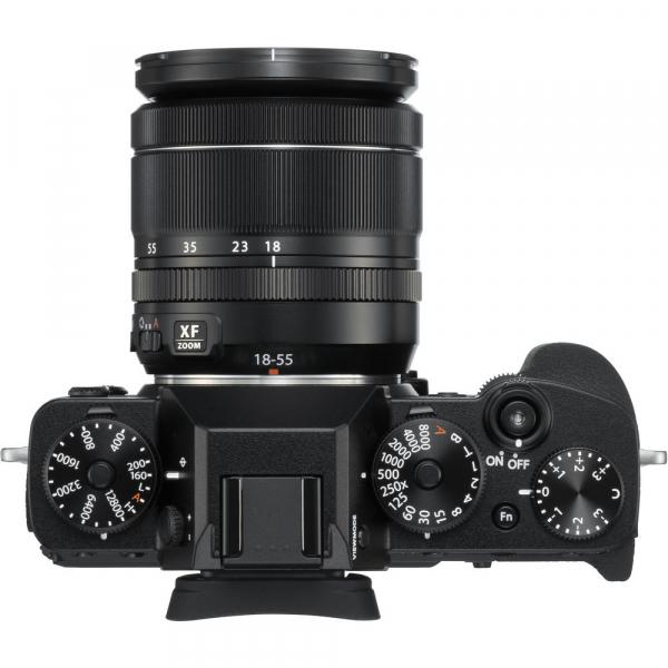 Fujifilm X-T3 Aparat Foto Mirrorless Kit XF18-55mm Senzor 26MP X-Trans 4K/60p Negru 3