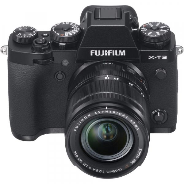 Fujifilm X-T3 Aparat Foto Mirrorless Kit XF18-55mm Senzor 26MP X-Trans 4K/60p Negru 9