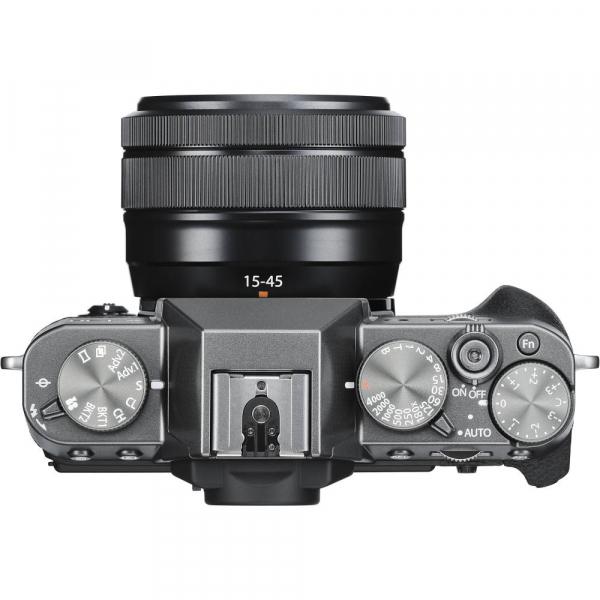 FUJIFILM X-T30 Mirrorless Kit + XC 15-45mm f/3.5-5.6 OIS PZ  - Charcoal Anthracite 3