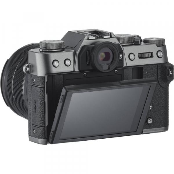 FUJIFILM X-T30 Mirrorless Kit + XC 15-45mm f/3.5-5.6 OIS PZ  - Charcoal Anthracite 4