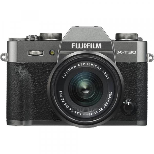 FUJIFILM X-T30 Mirrorless Kit + XC 15-45mm f/3.5-5.6 OIS PZ  - Charcoal Anthracite 0