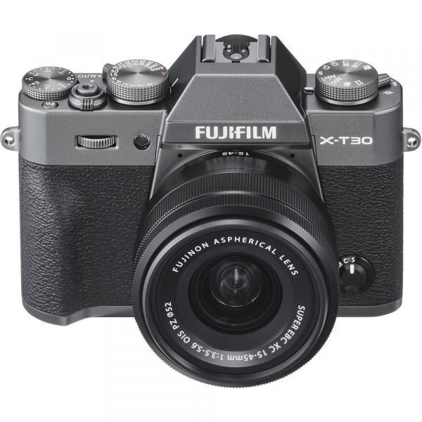 FUJIFILM X-T30 Mirrorless Kit + XC 15-45mm f/3.5-5.6 OIS PZ  - Charcoal Anthracite 5