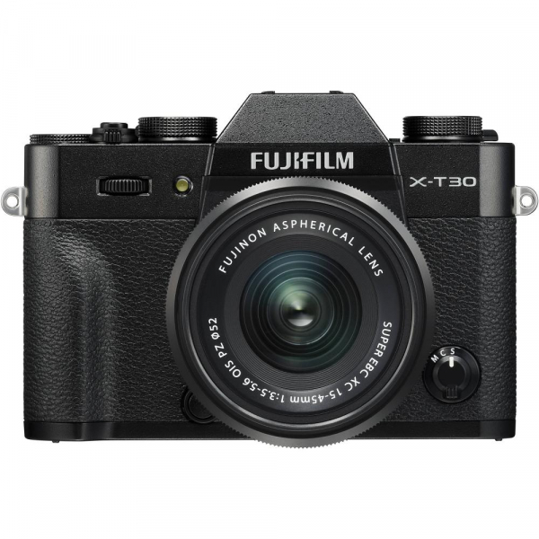 FUJIFILM X-T30 Mirrorless Kit + XC 15-45mm f/3.5-5.6 OIS PZ  - Negru 0