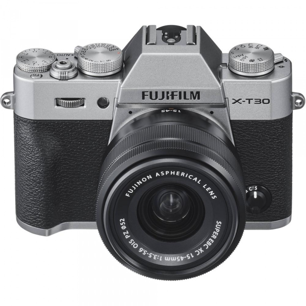 FUJIFILM X-T30 Mirrorless Kit + XC 15-45mm f/3.5-5.6 OIS PZ - Silver 3