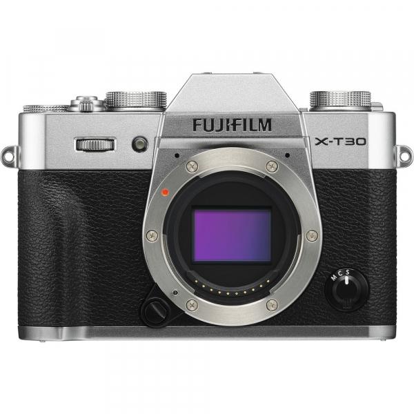 FUJIFILM X-T30 Mirrorless Kit + XC 16-50mm f/3.5-5.6 OIS II - Silver [1]