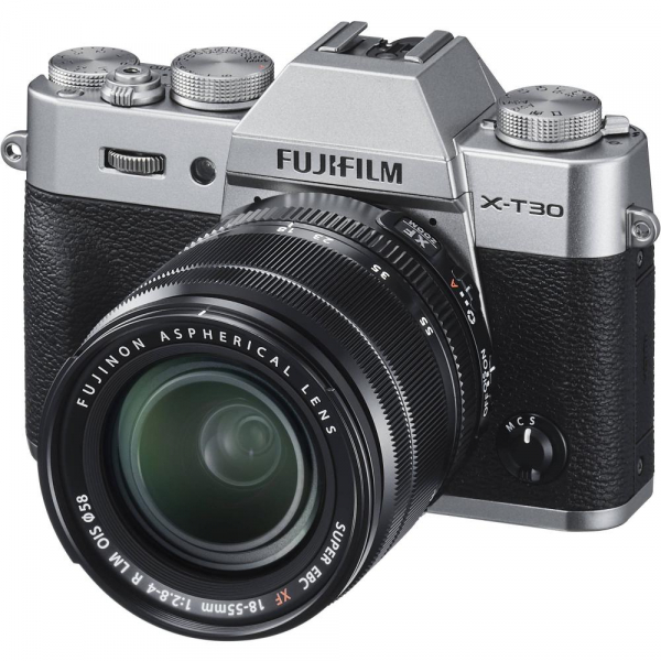 FUJIFILM X-T30 Mirrorless Kit + XF 18-55mm f/2.8-4 R LM OIS N - Silver 4