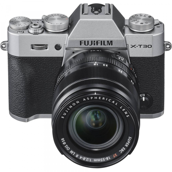 FUJIFILM X-T30 Mirrorless Kit + XF 18-55mm f/2.8-4 R LM OIS N - Silver 2