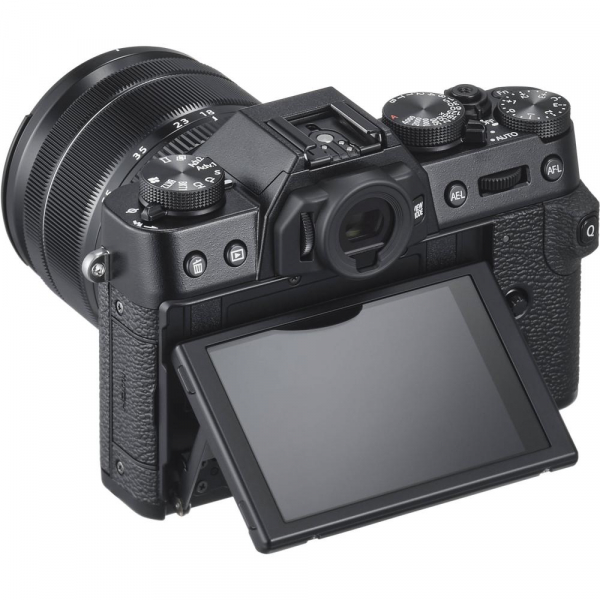 FUJIFILM X-T30 Mirrorless Kit + XF 18-55mm f/2.8-4 R LM OIS  -  Negru 3