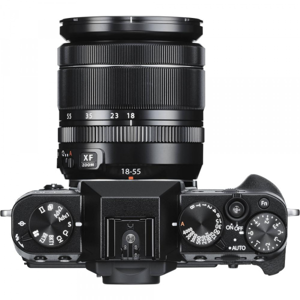 FUJIFILM X-T30 Mirrorless Kit + XF 18-55mm f/2.8-4 R LM OIS  -  Negru 2