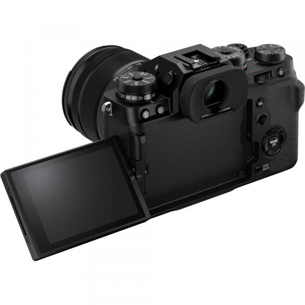 Fujifilm X-T4 Aparat Foto Mirrorless 26.1Mpx 4K/60fps X-Trans CMOS 4 KIT  XF 16-80mm f/4 R OIS WR (black) si XF 16-55mm f/2.8 R LM WR 6