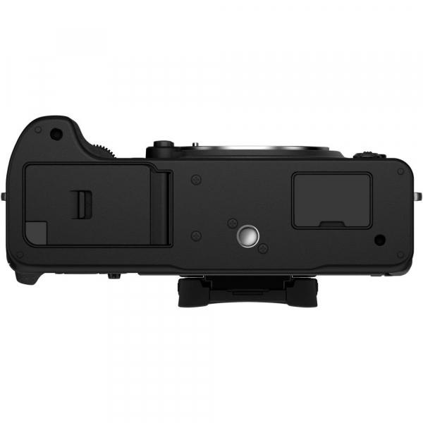 Fujifilm X-T4 Aparat Foto Mirrorless 26.1Mpx 4K/60fps X-Trans CMOS 4K KIT XF 18-55mm f/2.8-4 R LM OIS (black) si XF 16-55mm f/2.8 R LM WR 8