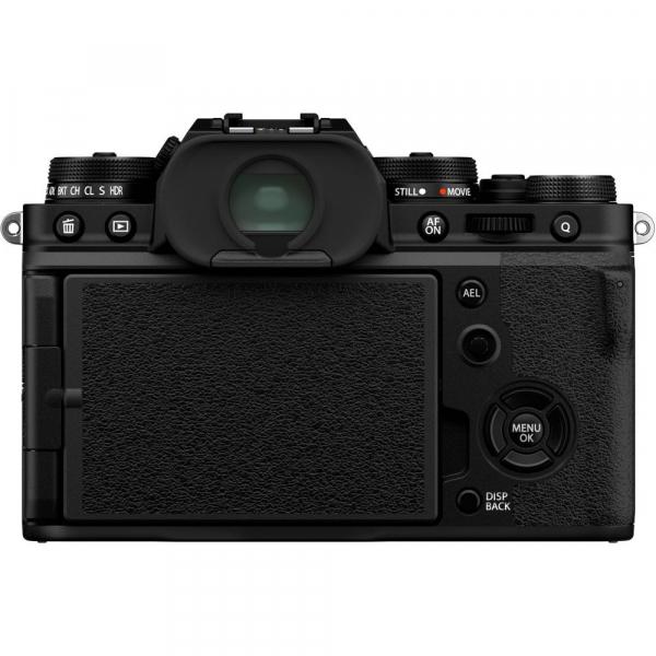 Fujifilm X-T4 Aparat Foto Mirrorless 26.1Mpx 4K/60fps X-Trans CMOS 4K KIT XF 18-55mm f/2.8-4 R LM OIS (black) si XF 16-55mm f/2.8 R LM WR 4