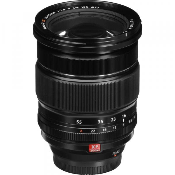 Fujifilm X-T4 Aparat Foto Mirrorless 26.1Mpx 4K/60fps X-Trans CMOS 4K KIT XF 18-55mm f/2.8-4 R LM OIS (black) si XF 16-55mm f/2.8 R LM WR 2