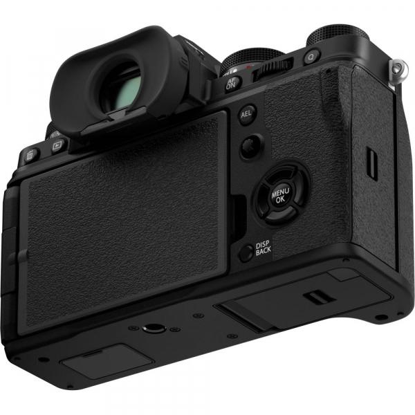 Fujifilm X-T4 Aparat Foto Mirrorless 26.1Mpx 4K/60fps X-Trans CMOS 4K KIT XF 18-55mm f/2.8-4 R LM OIS (black) si XF 16-55mm f/2.8 R LM WR 7