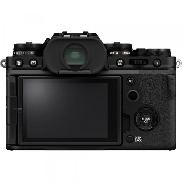 Fujifilm X-T4 Aparat Foto Mirrorless Body 26.1Mpx 4K/60fps X-Trans CMOS 4 (black) kit cu XF 16-55mm f/2.8 R LM WR 3