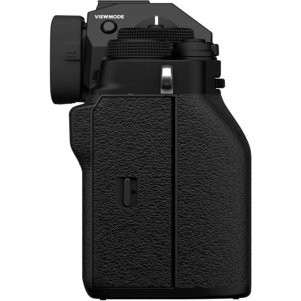 Fujifilm X-T4 Aparat Foto Mirrorless Body 26.1Mpx 4K/60fps X-Trans CMOS 4 (black) kit cu XF 16-55mm f/2.8 R LM WR 8