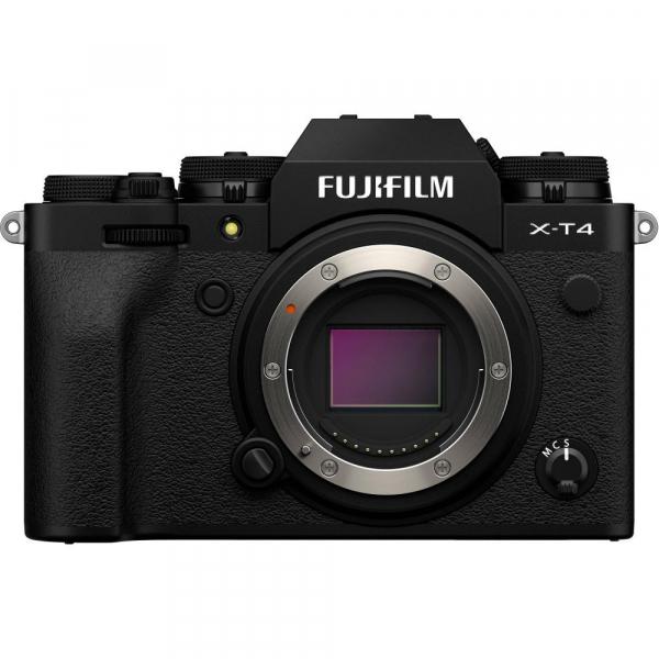 Fujifilm X-T4 Aparat Foto Mirrorless Body 26.1Mpx 4K/60fps X-Trans CMOS 4 (black) kit cu XF 16-55mm f/2.8 R LM WR 1
