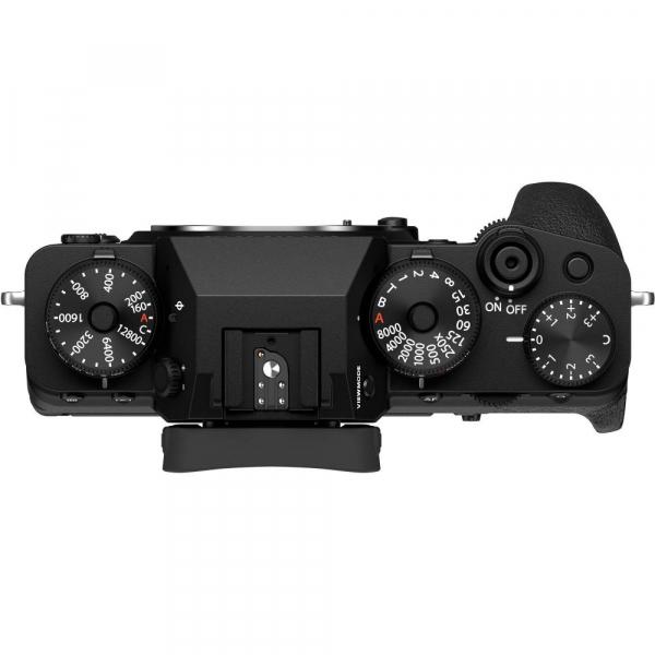Fujifilm X-T4 Aparat Foto Mirrorless Body 26.1Mpx 4K/60fps X-Trans CMOS 4 (black) kit cu XF 16-55mm f/2.8 R LM WR 5