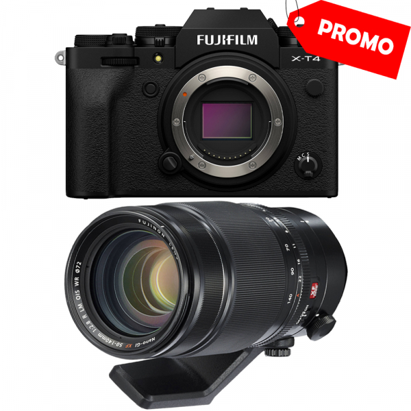 Fujifilm X-T4 Body (black) kit cu XF 50-140mm f/2.8 R LM OIS WR 0