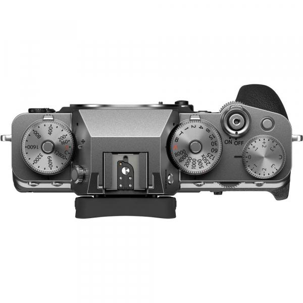 Fujifilm X-T4 Aparat Foto Mirrorless Body 26.1Mpx 4K/60fps X-Trans CMOS 4 (silver) kit cu XF 16-55mm f/2.8 R LM WR 5