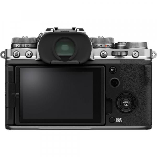 Fujifilm X-T4 Aparat Foto Mirrorless Body 26.1Mpx 4K/60fps X-Trans CMOS 4 (silver) kit cu XF 16-55mm f/2.8 R LM WR 3