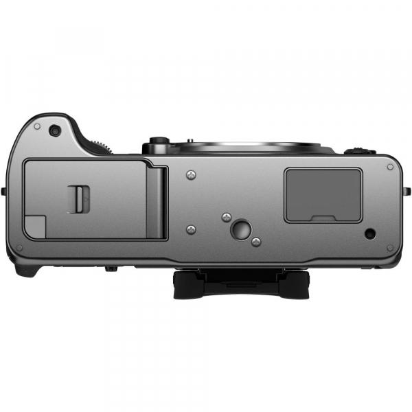 Fujifilm X-T4 Aparat Foto Mirrorless Body 26.1Mpx 4K/60fps X-Trans CMOS 4 (silver) kit cu XF 16-55mm f/2.8 R LM WR 6