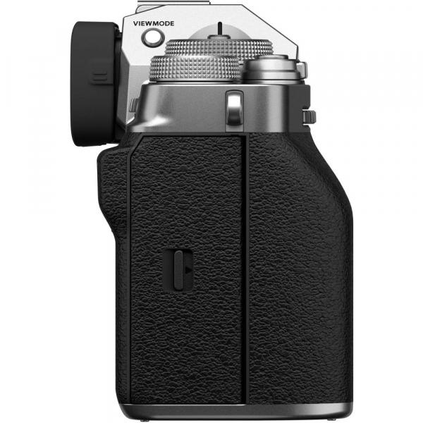 Fujifilm X-T4 Aparat Foto Mirrorless Body 26.1Mpx 4K/60fps X-Trans CMOS 4 (silver) kit cu XF 16-55mm f/2.8 R LM WR 7