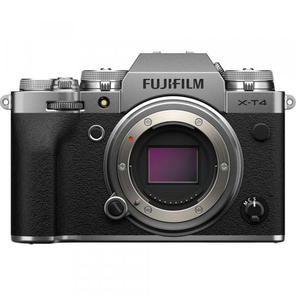 Fujifilm X-T4 Aparat Foto Mirrorless Body 26.1Mpx 4K/60fps X-Trans CMOS 4 (silver) kit cu XF 50-140mm f/2.8 R LM OIS WR 1