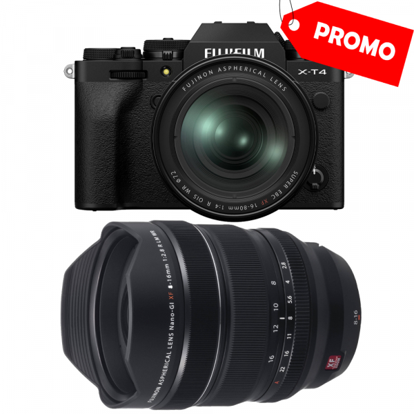 Fujifilm X-T4  +  XF 16-80mm f/4 R OIS WR (black) si  XF 8-16mm f/2.8 R LM WR 0