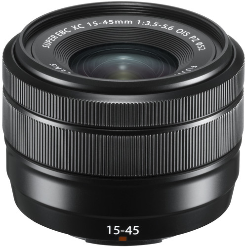 Fujifilm XC 15-45mm f/3.5-5.6 OIS, Black 0