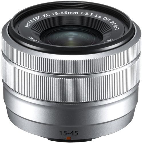 Fujifilm XC 15-45mm f/3.5-5.6 OIS, Silver 0