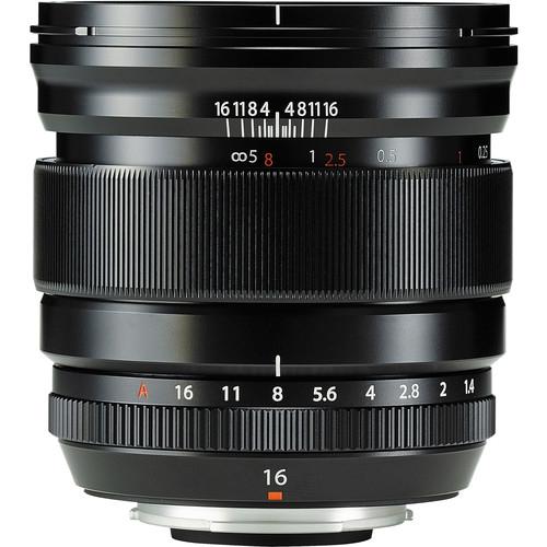 Fujifilm XF 16mm f/1.4 R WR Black 2