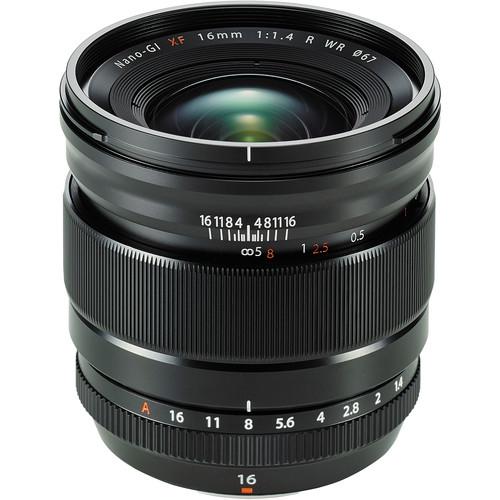 Fujifilm XF 16mm f/1.4 R WR Black 0