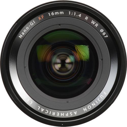 Resigilat: Fujifilm XF 16mm f/1.4 R WR Black - Resigilat [1]