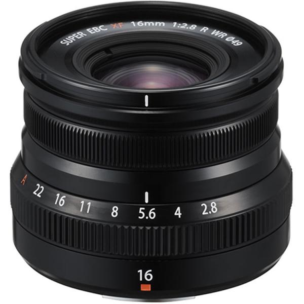 Fujifilm XF 16mm f/2.8 R WR black , obiectiv foto Mirrorless 2