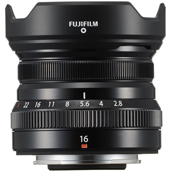Fujifilm XF 16mm f/2.8 R WR black , obiectiv foto Mirrorless 0