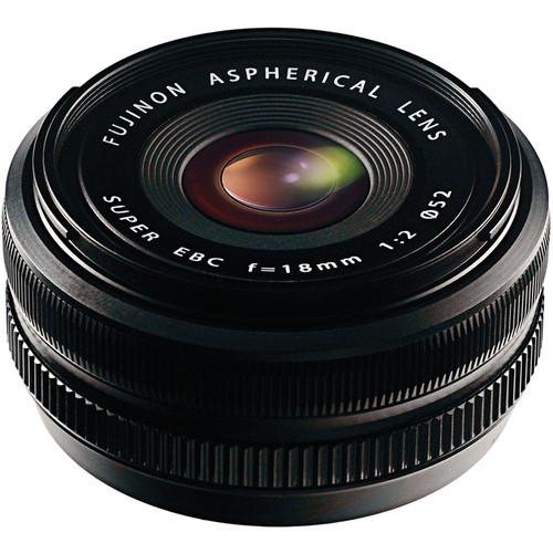 Fujifilm XF 18mm f/2 R Black 0