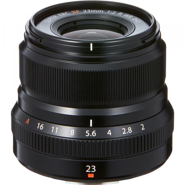Fujifilm XF 23mm f/2 R WR , black 1