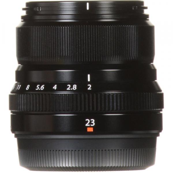 Fujifilm XF 23mm f/2 R WR , black 3