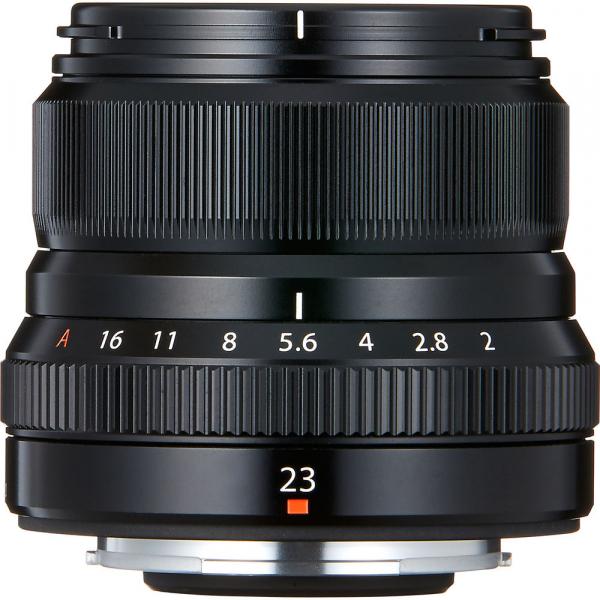 Fujifilm XF 23mm f/2 R WR , black 2