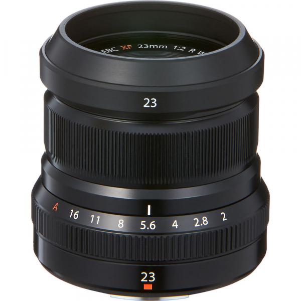 Fujifilm XF 23mm f/2 R WR , black 0