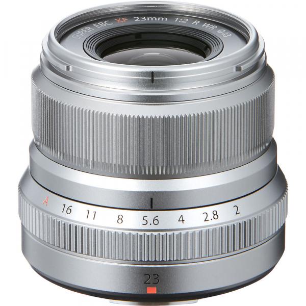 Fujifilm XF 23mm f/2 R WR Silver 0