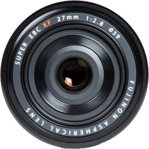 Fujifilm XF 27mm f/2.8 Black 2