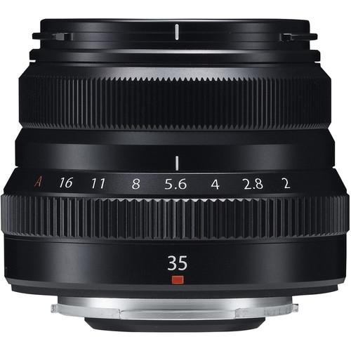 Fujifilm XF 35mm f/2 R WR - Black 1