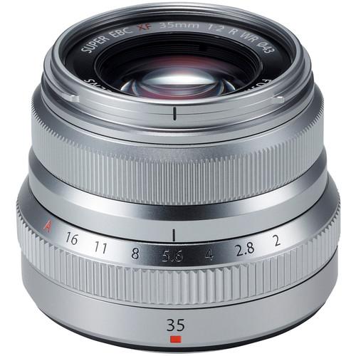Resigilat: Fujifilm XF 35mm f/2 R WR - Silver - Resigilat [0]