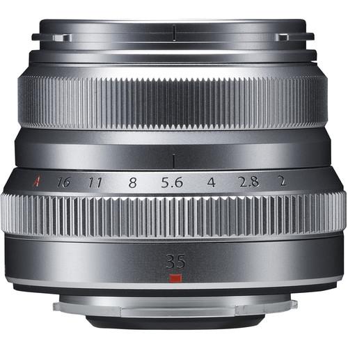 Fujifilm XF 35mm f/2 R WR - Silver 1