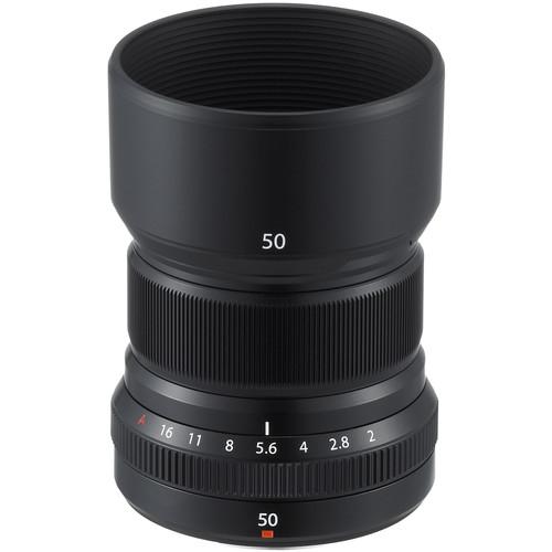 Fujifilm XF 50mm f/2 R WR - black 0