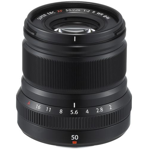 Fujifilm XF 50mm f/2 R WR - black 3