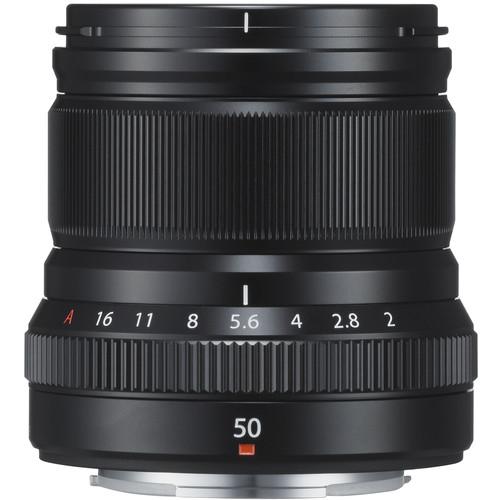 Fujifilm XF 50mm f/2 R WR - black 1